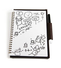 Whiteboard notebook perfect dry erase tool