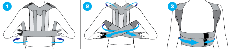 How To Apply - 138 Kids Clavicle Brace