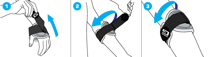 How To Apply - 160 Tennis Golf Elbow Support