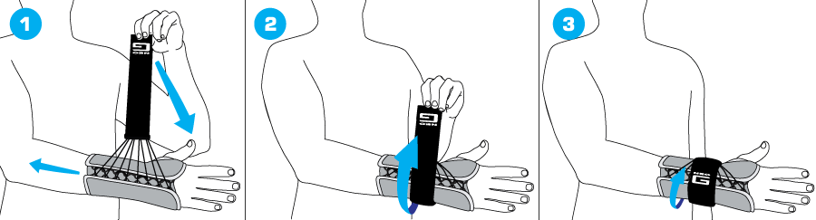 How To Apply - 309 Easy Fit Wrist Brace