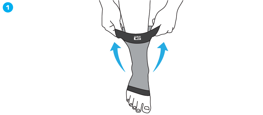 How To Apply - 724 Airflow Ankle Support