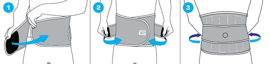 How To Apply - 891 Back Brace