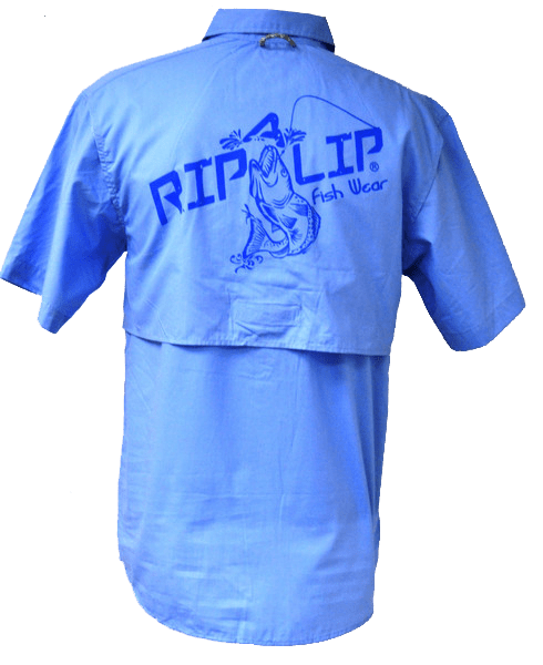 Short and long sleeve tees short sleeve rip a lip for Button down fishing shirts