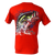 Bass Splash Rip A Lip Short Sleeve T-Shirt w/Pocket Red