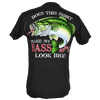 CLOSEOUT:  Bass Big Shirt Short Sleeve T-Shirt Tar (Large Only)