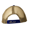 CLOSEOUT:  Royal Blue w/Khaki Mesh Back Rip A Lip Cap