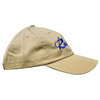 CLOSEOUT: Stone & Royal Blue Cotton Rip a Lip Cap