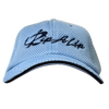 CLOSEOUT: Light Blue & Navy Fitted Performance Rip A Lip Cap