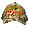 Camo Game Guard & Orange Soft Mesh Back Rip A Lip Cap