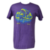 CLOSEOUT: Rip A Lip Fishwear Since 2011 Logo Short Sleeve T-Shirt Heather Purple