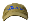 CLOSEOUT: Khaki & Royal Blue Rip A Lip Cotton Cap
