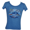 CLOSEOUT:  Junior Ladies Shrimp Boat  Short Sleeve T-Shirt Heather Royal