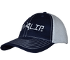Navy & White Fitted Rip A Lip Cap