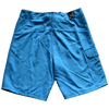 Men's Solid Board Rip A Lip Shorts Neon Blue (36 & 38 Only)