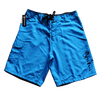 Men's Solid Board Rip A Lip Shorts Neon Blue (38 Only)