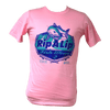 CLOSEOUT: Rip A Lip Fishwear Since 2011 Logo Short Sleeve T-Shirt Pink