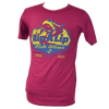 CLOSEOUT: Rip A Lip Fishwear Since 2011 Logo Short Sleeve T-Shirt Raspberry (Large, XL & 2X Only)