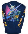 CLOSEOUT: Sailfish Long Sleeve T-Shirt Harbor Blue (Small Only)