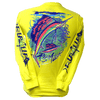 CLOSEOUT:  Sailfish - Safety Green Long Sleeve T-Shirt (Small & Medium Only)