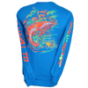 CLOSEOUT: Shrimp - Sapphire Long Sleeve T-Shirt (Small & X-Large Only)