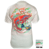 CLOSEOUT: Shrimp Short Sleeve T-Shirt White (Small Only)