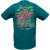 CLOSEOUT: Shrimp Short Sleeve T-Shirt Jade (Small Only)