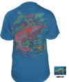 CLOSEOUT: Shrimp Short Sleeve T-Shirt Turquoise