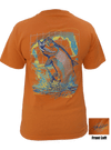 CLOSEOUT: Tarpon Short Sleeve T-Shirt Orange (Small, Medium & Large Only)