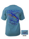 CLOSEOUT: Tuna - Celadon Short Sleeve T-Shirt (Small & Medium Only)