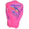 CLOSEOUT:  Tuna Long Sleeve T-Shirt Safety Pink (Small Only)