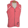 CLOSEOUT: Ladies Rip A Lip Vest with Hidden Hood Coral (Small Only)