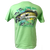 Fresh Water Walleye Short Sleeve Rip A Lip T-Shirt Mint