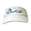White & Jade Cotton Rip a Lip Visor