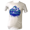 CLOSEOUT: Rip A Lip Fishwear Since 2011 Logo Short Sleeve T-Shirt White (X-Small, Small & 3X Only)