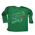 Youth - Speckled Trout Long Sleeve Polyester Performance Jersey Knit Shirt Irish Green