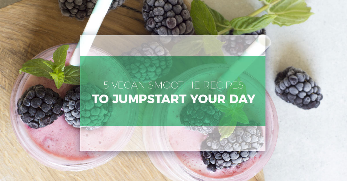 5 Vegan Smoothie Recipes To Jumpstart Your Day