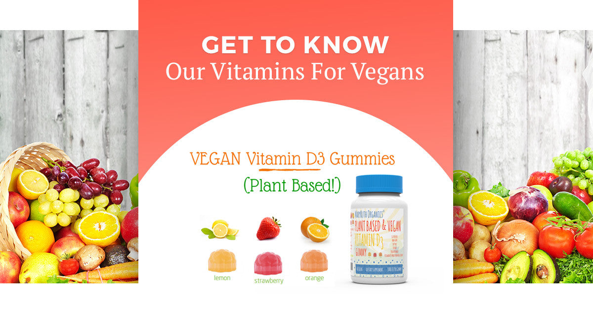 Get To Know Our Vitamins For Vegans