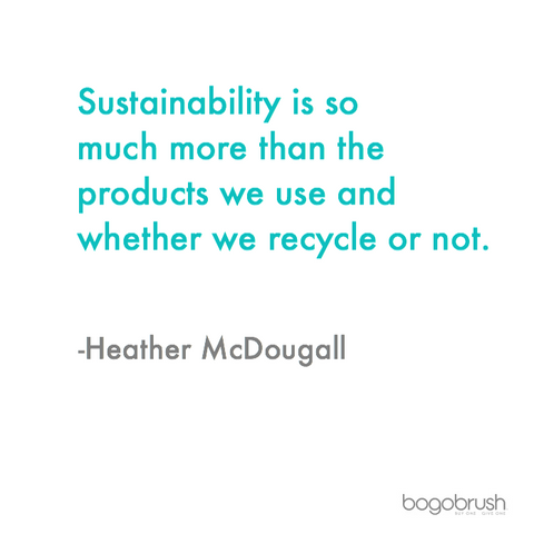 Sustainability with Heather McDougall