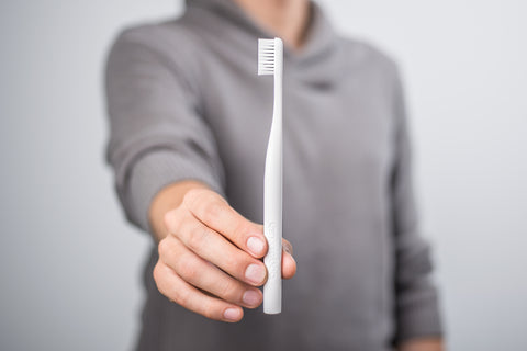 Bogobrush recycled plastic toothbrush