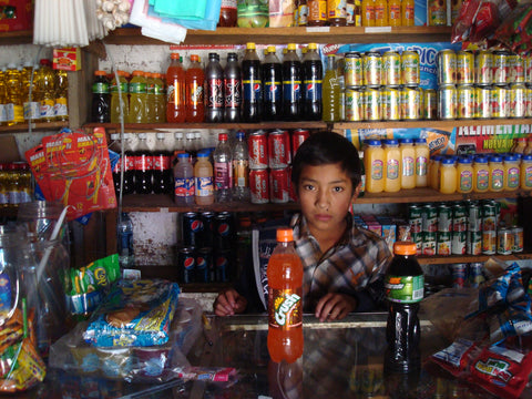 candy and soda shop in Guatemala