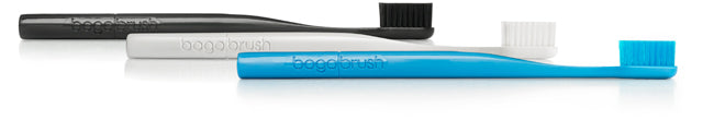 Bogobrush Toothbrushes are Made from Recycled Materials.