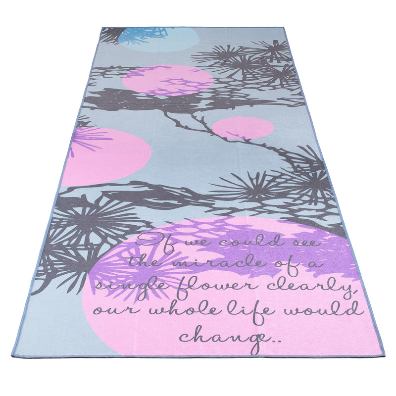 Mindful Me Yoga Towel