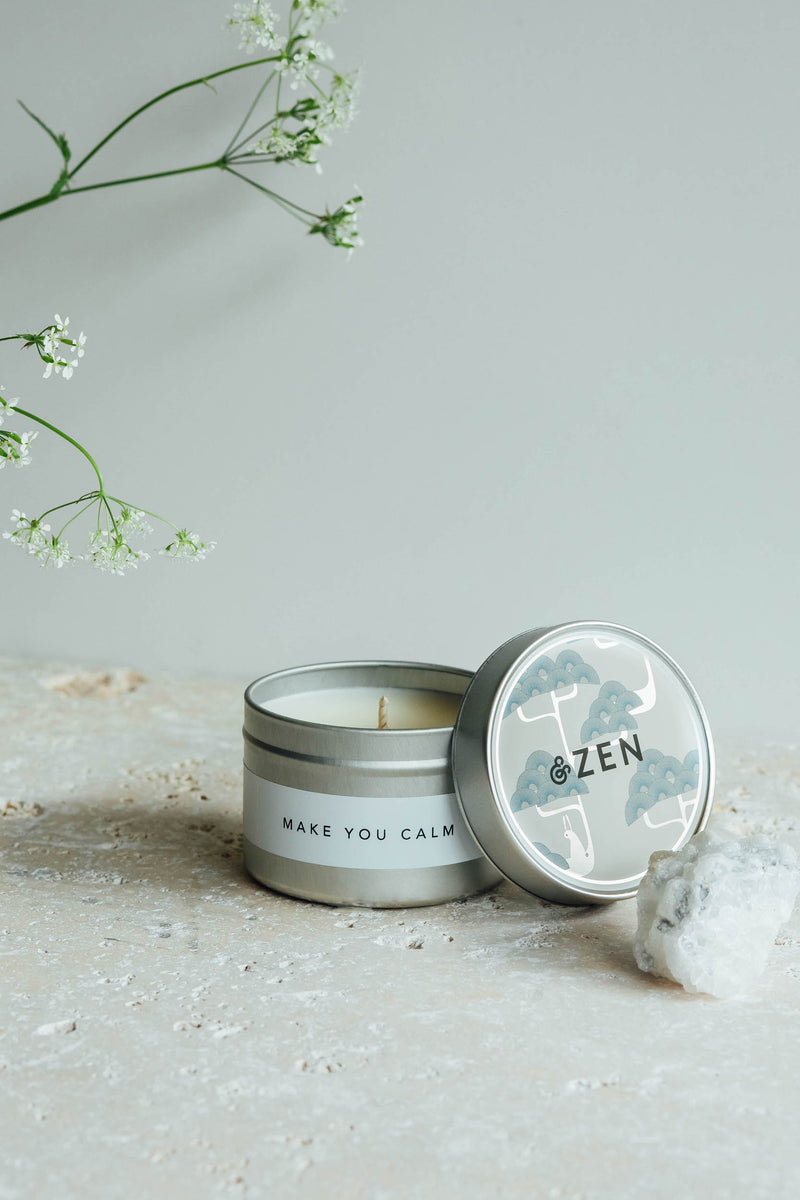 Make You Calm | Small Meditation Candle