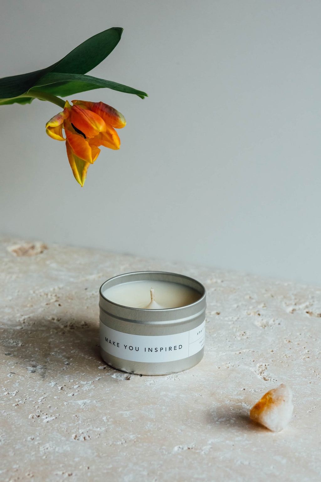 Make You Inspired | Small Meditation Candle