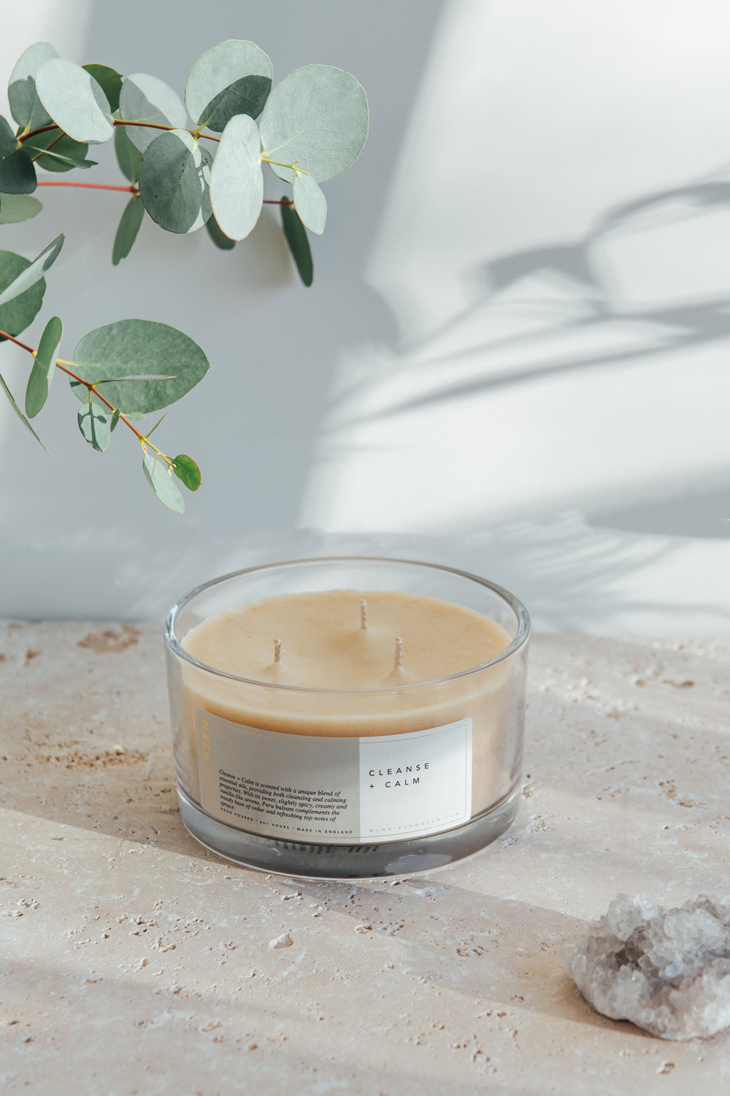 Cleanse + Calm | Three-Wick Candle