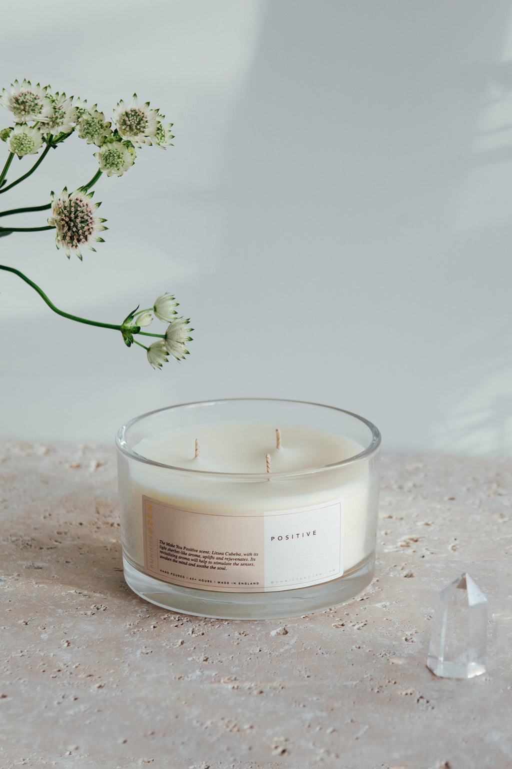 Make You Positive | Three-Wick Candle
