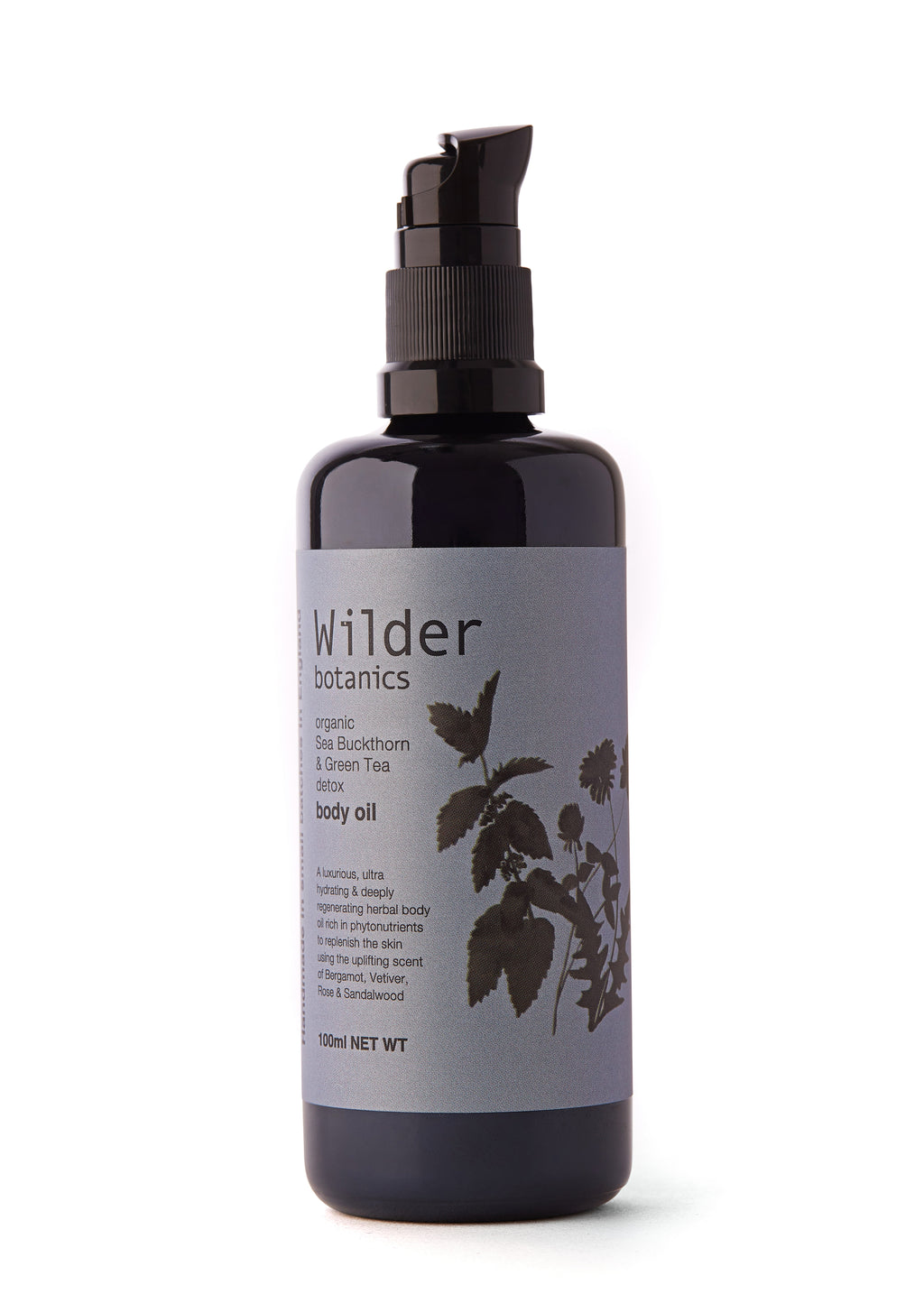Wilder Botanics | Organic Sea Buckthorn & Green Tea Body Oil