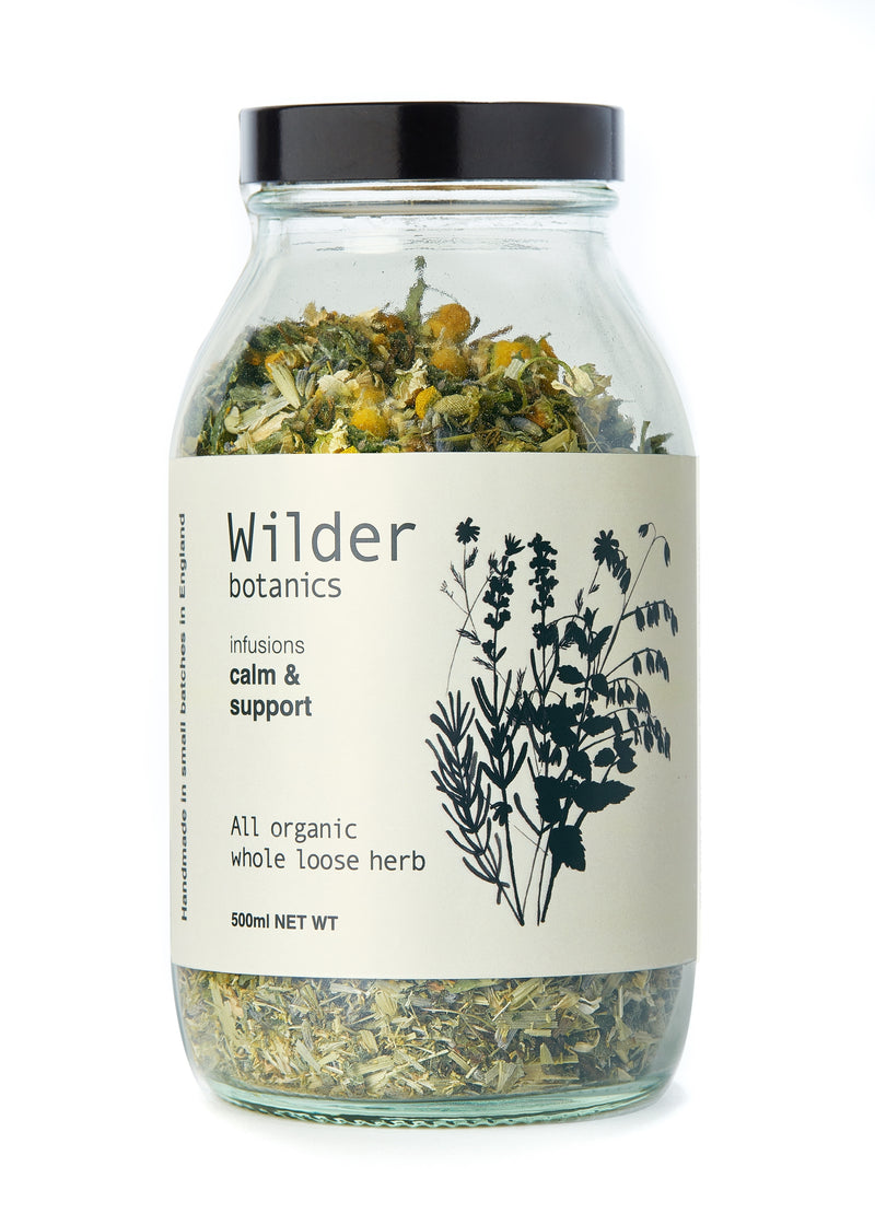 Wilder Botanics | Calm & Support Tea Infusion