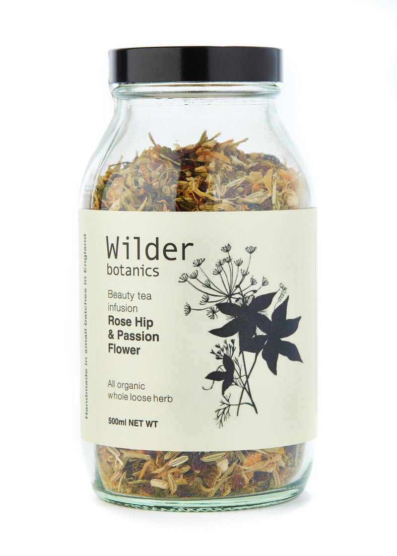 Wilder Botanics | Beauty Tea Infusion Rose Hip & Passion Flower