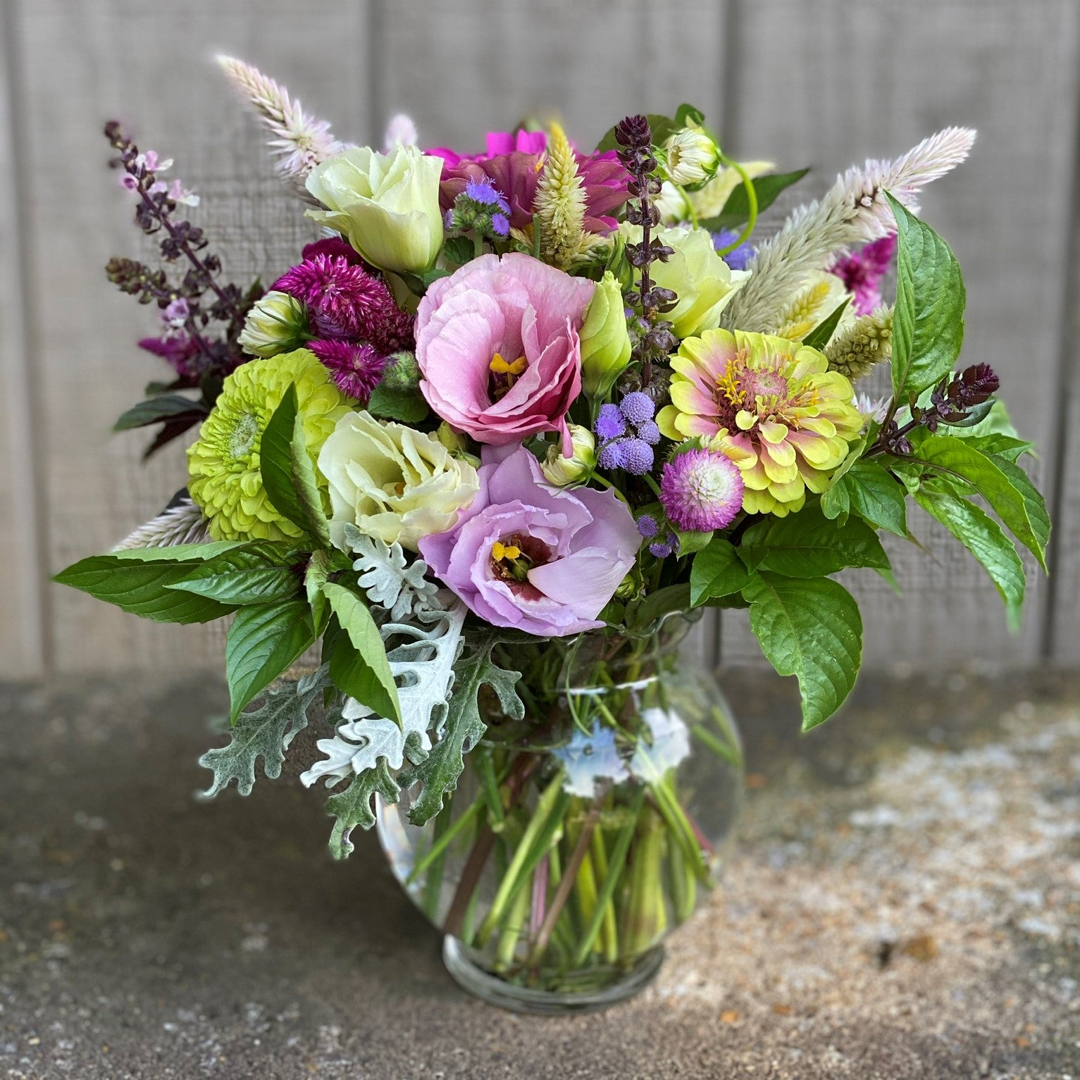 How to Build a Small Seasonal Bouquet